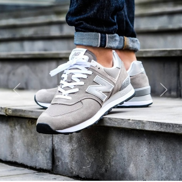 d8cc055f13a5 New Balance 574 Classic - Mens Shoes Gray